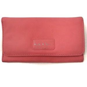 Nicole Miller   Orange Pink Wallet